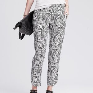 [Banana Republic] Leaf Print Pants